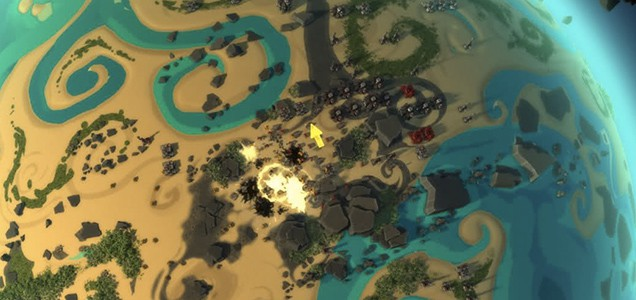 Первое видео битв в Planetary Annihilation