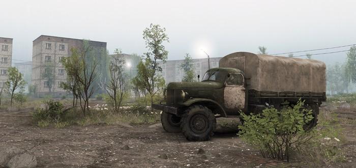 Новое дополнение для Spintires отправит игроков в Чернобыль
