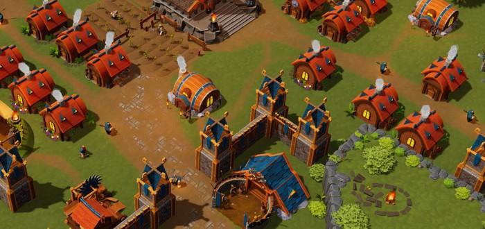 Трейлер и геймплей кооперативной стратегии про гномов DwarfHeim