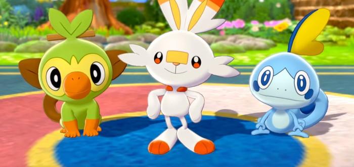 За неделю продажи Pokemon Sword & Shield превысили 6 миллионов копий