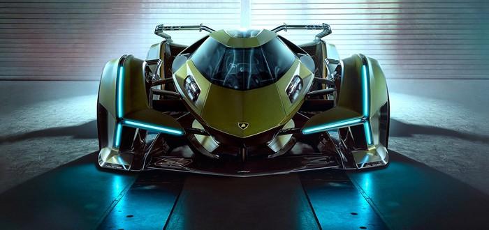 Lamborghini и разработчики Gran Turismo показали суперкар для игры