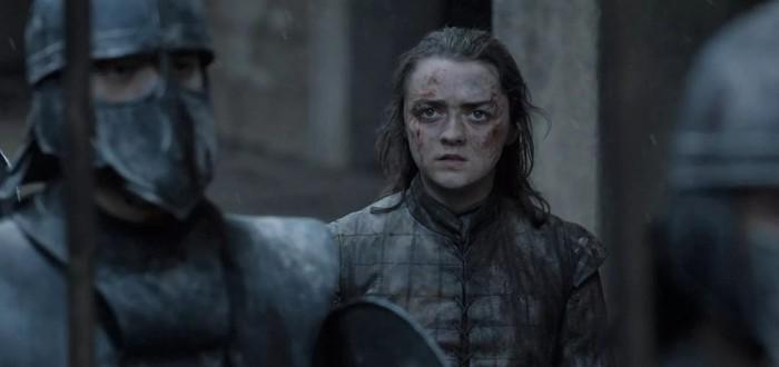 """Вырезанные сцены из восьмого сезона """"Игры престолов"""""""