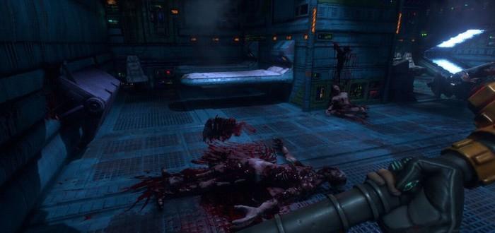 Свежие геймплейные кадры из ремейка System Shock