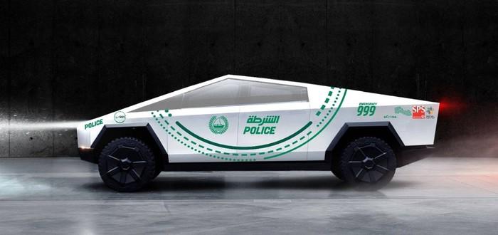 Полиция Дубая купит Cybertruck Илона Маска