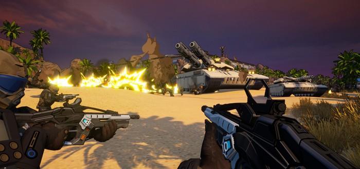 Синтез Borderlands и C&C в первом трейлере новой игры студии Petroglyph — Earthbreakers