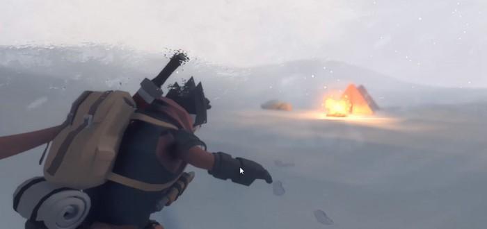 Йети на заснеженном острове в новом геймплее сурвайвала Little Devil Inside