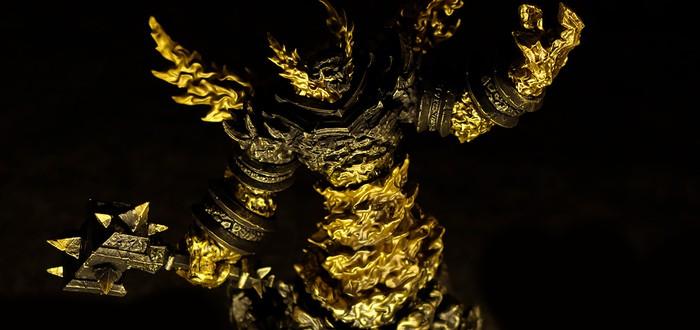 Рагнарос Повелитель Огня: фото самого эпичного коллекционного издания World of Warcraft