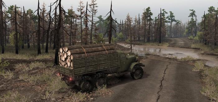 Рыжий лес и балалайка: Первый тизер DLC Chernobyl для Spintires