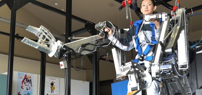 Пожилые японцы начали использовать экзоскелеты