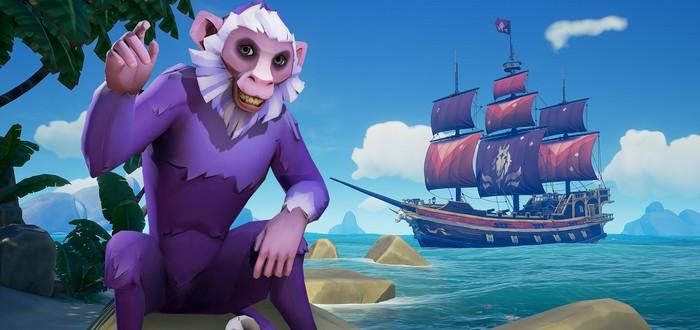 Rare поделилась ежегодной статистикой игроков Sea of Thieves