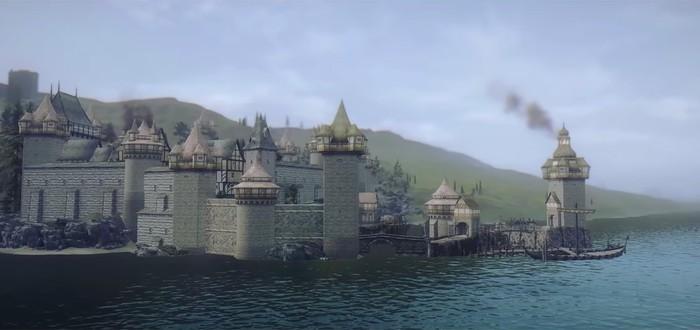 Провинции Морровинда в геймплее мода Beyond Skyrim