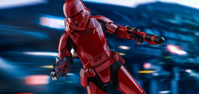"""Hot Toys показала две версии летающих штурмовиков из """"Звездных войн"""""""