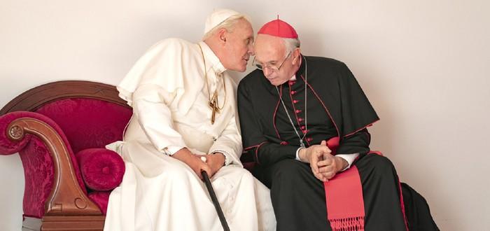 """Диалоги о вечном: Рецензия на фильм """"Два Папы"""" от Netflix"""