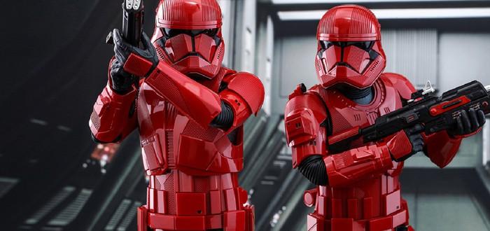Новые фигурки Star Wars: штурмовик ситхов, Кайло Рен, Дарт Вейдер и Энакин