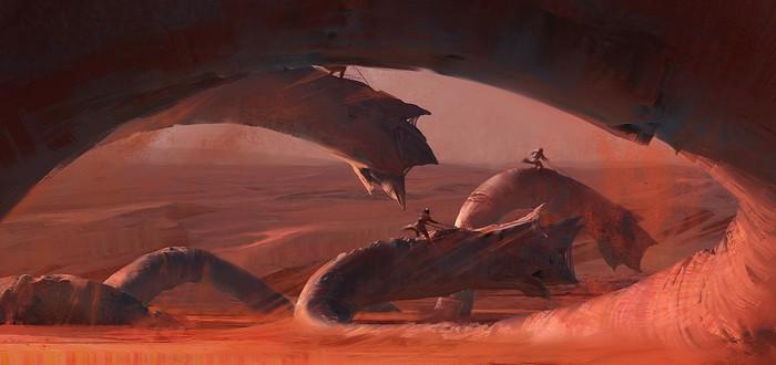 """Опубликованы изображения из графической новеллы по """"Дюне"""""""