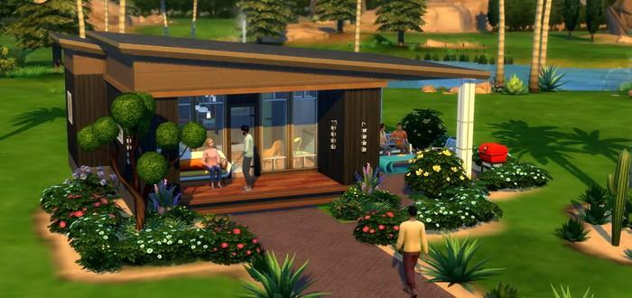 Микродомики официально появятся в The Sims 4