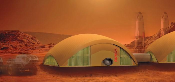 NASA хочет построить на Луне и Марсе базы из грибов