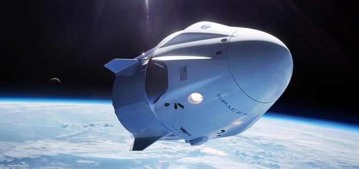 SpaceX успешно испытала эвакуацию капсулы Crew Dragon в полете