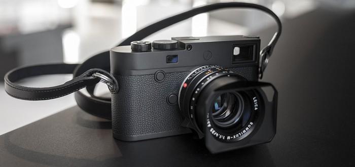 Leica представила камеру за $8295 для черно-белой съемки