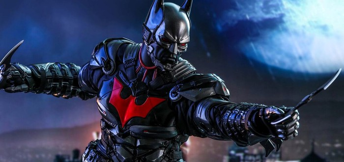 Hot Toys показала фигурку костюма Бэтмена Будущего из Batman: Arkham Knight