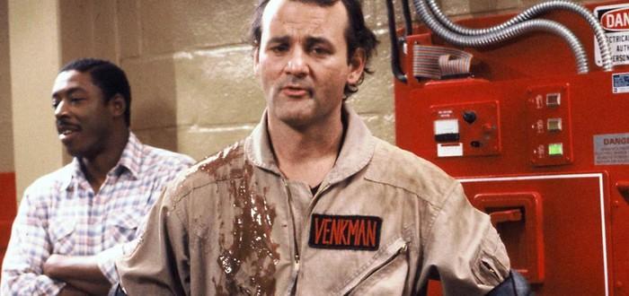 """Билл Мюррей вернется к роли Питера Венкмана в """"Охотниках за привидениями 3"""""""