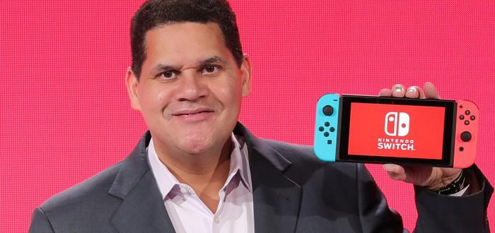 Реджи Фис-Эме помешал Nintendo «омолодить» логотип компании