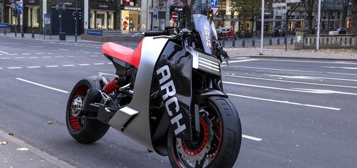 Дизайнер создал 3D-концепт мотоцикла в стиле Cyberpunk 2077