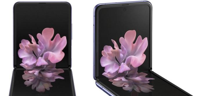 Немецкий сайт полностью рассекретил Samsung Galaxy Z Flip — фотографии и финальные характеристики