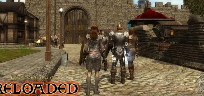 Baldur's Gate воссоздан на движке Neverwinter Nights 2