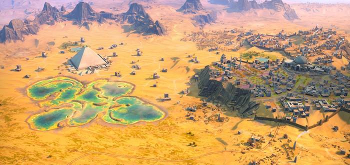 Скриншоты и цивилизации Humankind: пирамиды, тундра, нубийцы и ольмеки