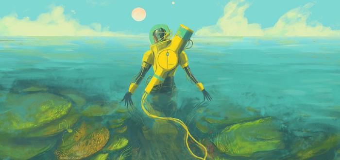 Исследование инопланетного океана в трейлере минималистичной инди In Other Waters