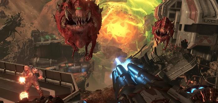 Два часа геймплея Doom Eternal вместе с рэпером T-Pain и арт-директором игры