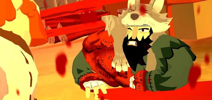 Десятки кровавых убийств в новом трейлере яркого экшена Bloodroots
