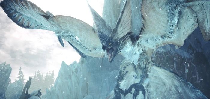 Два новых монстра в трейлере крупного обновления для Monster Hunter World: Iceborne