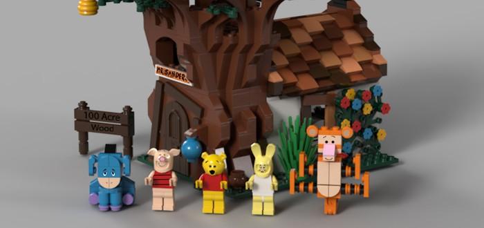 Набор с Винни-Пухом из LEGO Ideas поступит в продажу