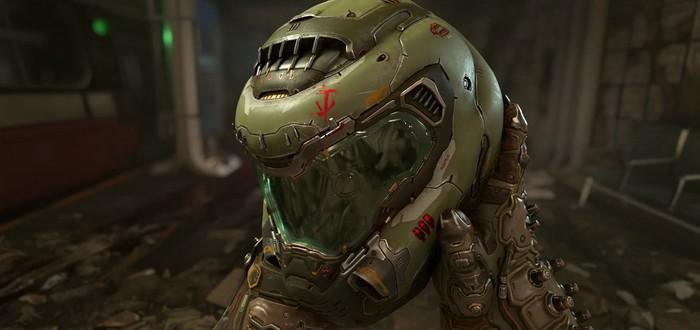Первый взгляд на Мародера в новом геймплейном ролике Doom Eternal