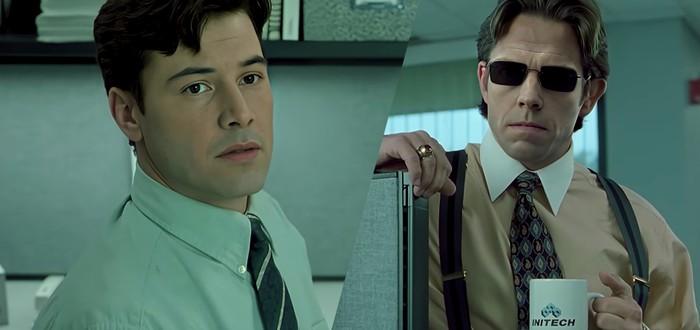 """Дипфейк: Если бы Нео выбрал синюю таблетку в """"Матрице"""""""