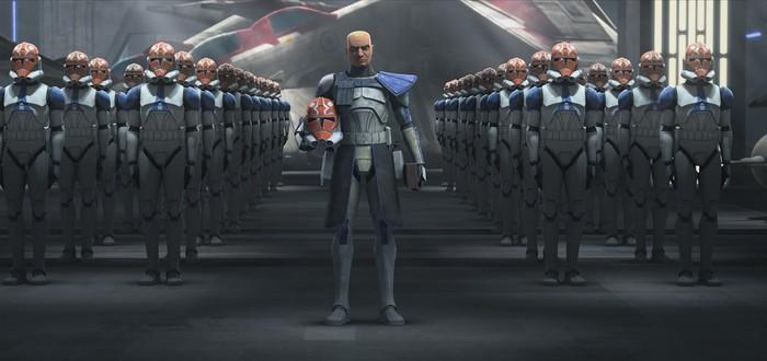 """Встреча с элитным экспериментальным отрядом в отрывке седьмого сезона """"Войн Клонов"""""""