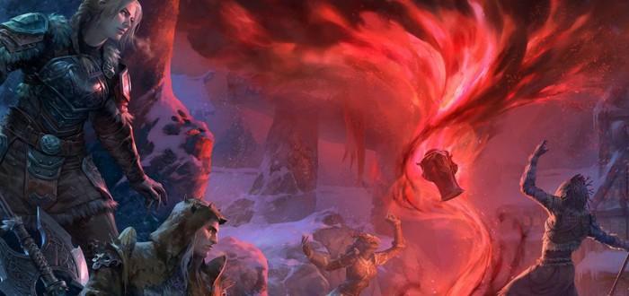 """Разработчики The Elder Scrolls Online рассказали о дополнении """"Мрачная буря"""""""