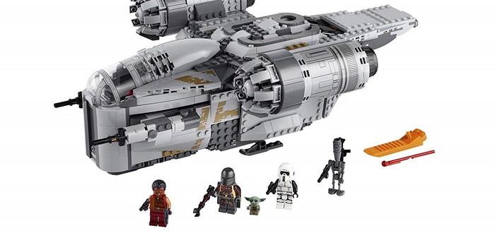 """В Amazon открылись предзаказы новых наборов LEGO по """"Мандалорцу"""""""