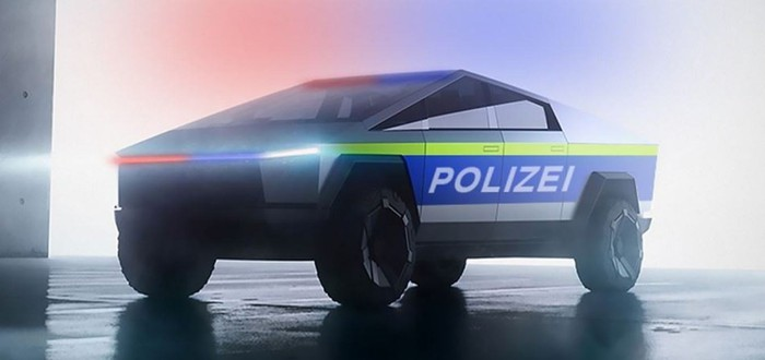 Канадская полиция показала концепт патрульного Cybertruck