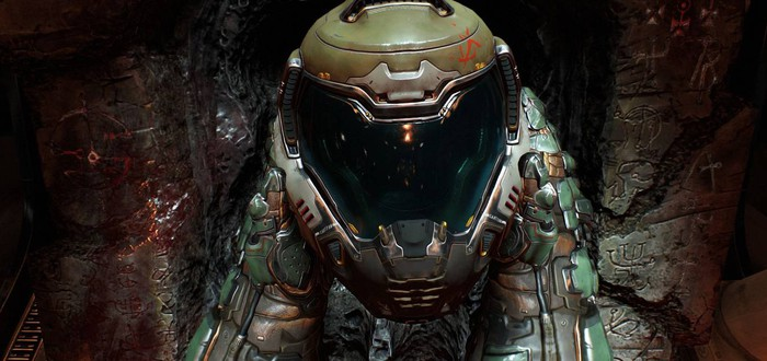Моддер добавил трассировку лучей в Doom 2016
