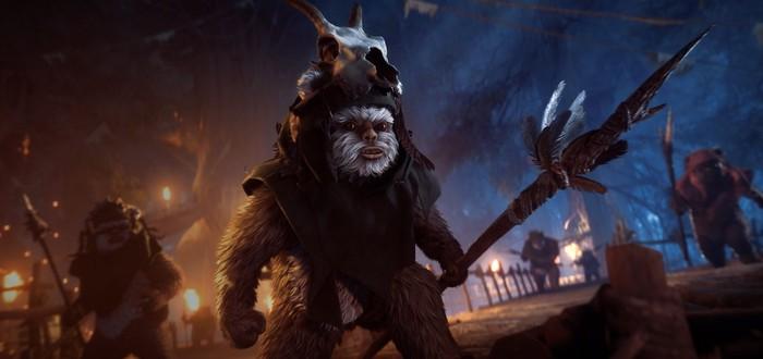 Эвок-охотник и новые локации для кооператива — к Battlefront 2 вышло обновление Age of Rebellion