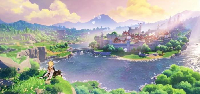 Прекрасный мир, сражения и взаимодействие с окружением в геймплее Genshin Impact