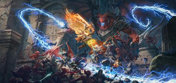 Безнадежная оборона от культистов и демонов в геймплее Pathfinder: Wrath Of The Righteous