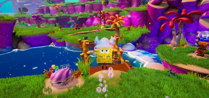 PAX East 2020: Семь минут геймплея ремейка игры про Губку Боба