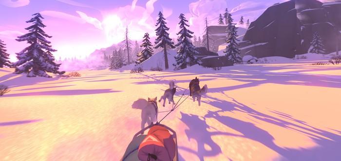 Выживание в дикой тундре в геймплее The Red Lantern