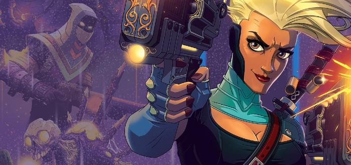 Быстрые сражения и яркий пиксельный мир в геймплее Foregone