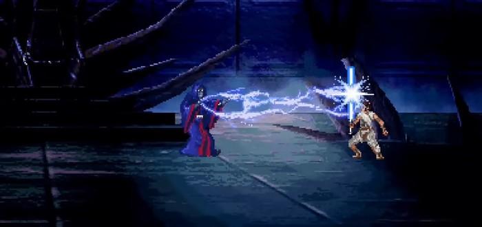 """Энтузиаст воссоздал финальную битву """"Скайуокер. Восход"""" в 16-битном стиле"""