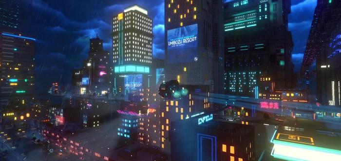 Киберпанк-симулятор подпольного курьера Cloudpunk выйдет на PC в апреле